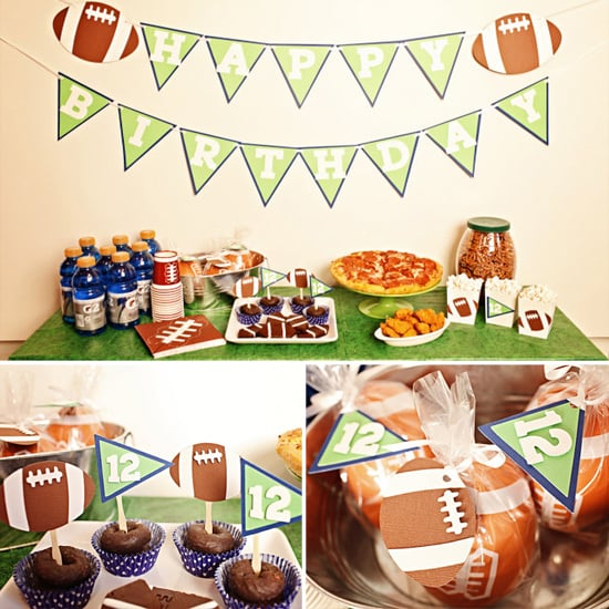 Touchdown Football Birthday Party Package ($52)