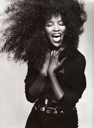 Fab Flash: Naomi Campbell Mugs For YSL Fall Campaign