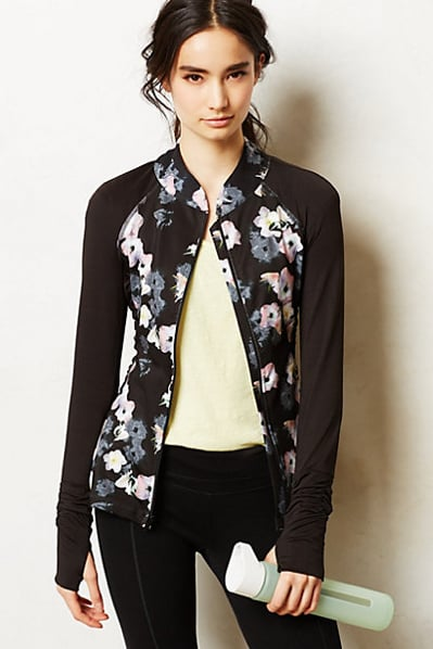 Pure + Good Shadow Floral Jacket