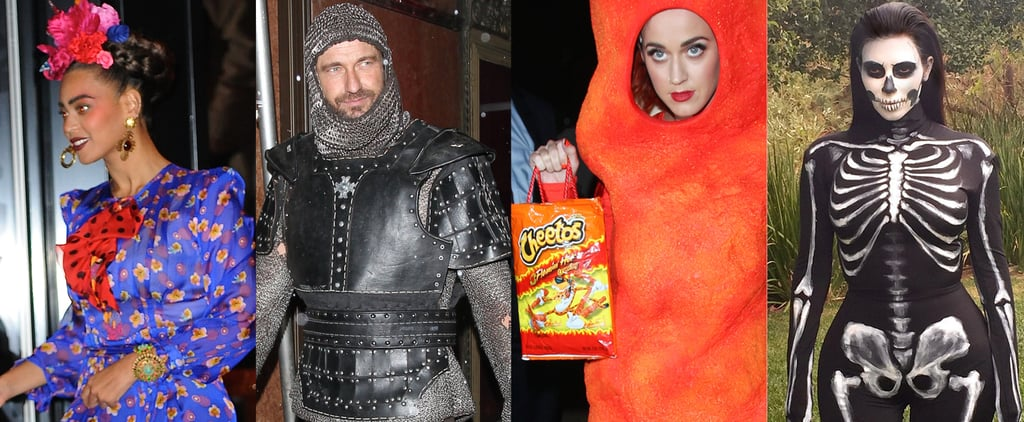 Look Back at All of Last Year's Memorable Celebrity Halloween Costumes!