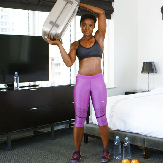 5-Minute Hotel Room Workout for Arms, Shoulders, & Back