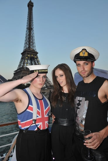 Coco Rocha and Her Sailor Friend Salute You