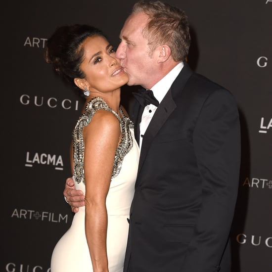 Salma Hayek and Husband's Sweetest Pictures