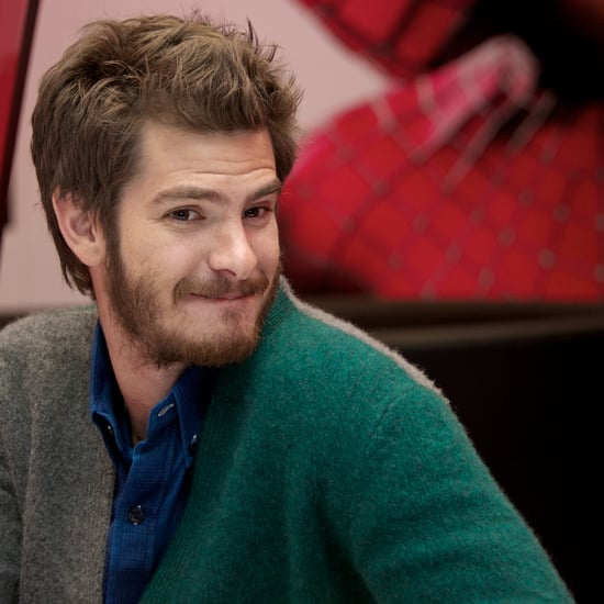 Andrew Garfield and Batkid