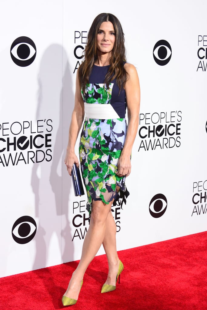 Sandra Bullock at the People's Choice Awards 2014