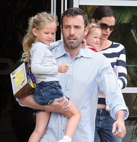 Picture of Ben Affleck and Violet Affleck