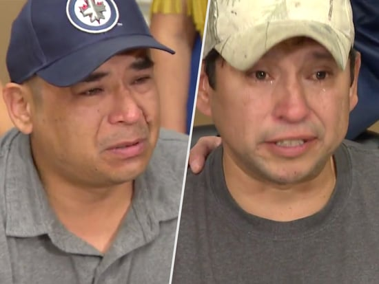'Forty Years Gone': Two Canadian Men Break Down in Tears After Discovering They Were Switched at Birth