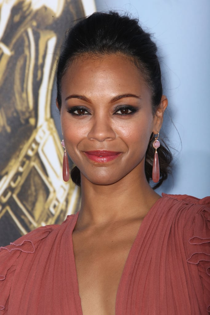 Zoe Saldana wore Gucci to the ALMA Awards.