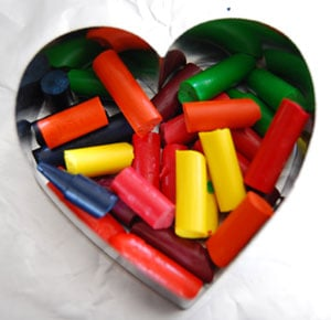 Recycling Crayons
