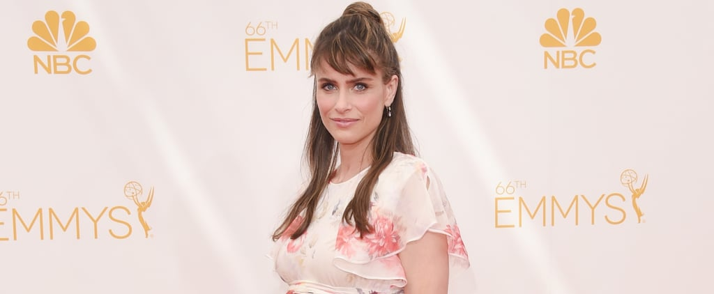 Amanda Peet Reveals Her Baby Bump at the Emmys!