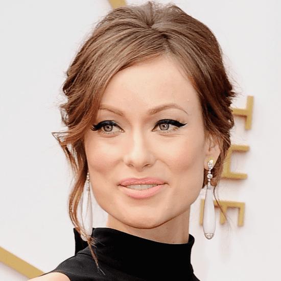 Olivia Wilde Hair and Makeup at Oscars 2014