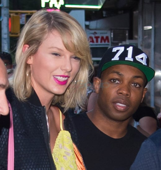 Taylor Swift has dinner in New York with friend Todrick Hall who defended her against Kanye West's wife
