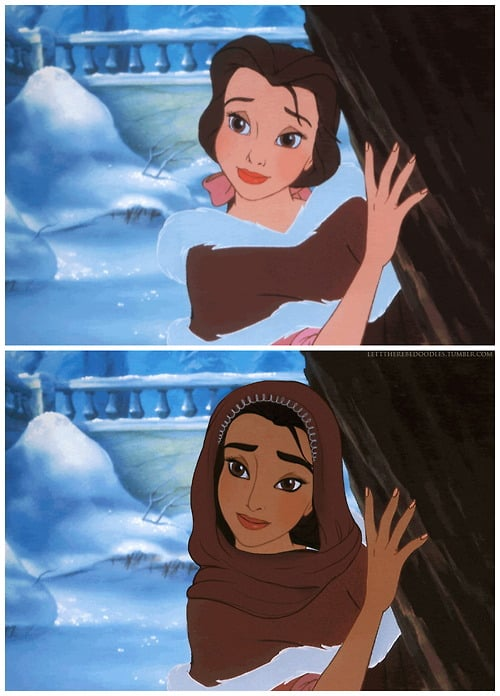 Belle as a Different Race