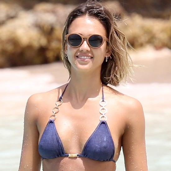 Bikini Caribbean Jessica Alba Pinterest