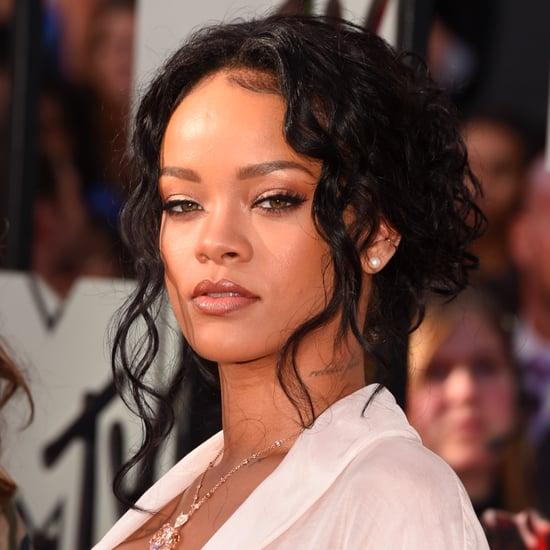 Rihanna's Hair and Makeup at MTV Movie Awards 2014