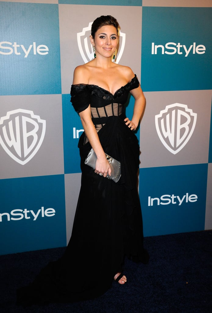 Jamie-Lynn Sigler stepped out at InStyle's Golden Globes afterparty.