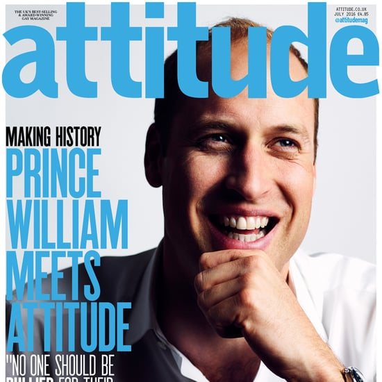 Prince William on the Cover of Attitude June 2016