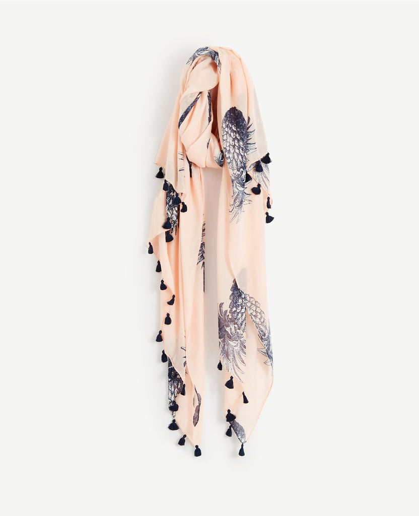 A bright scarf is a no-fuss way to perk up any of your mom's everyday looks. Loft Pineapple Scarf ($50)