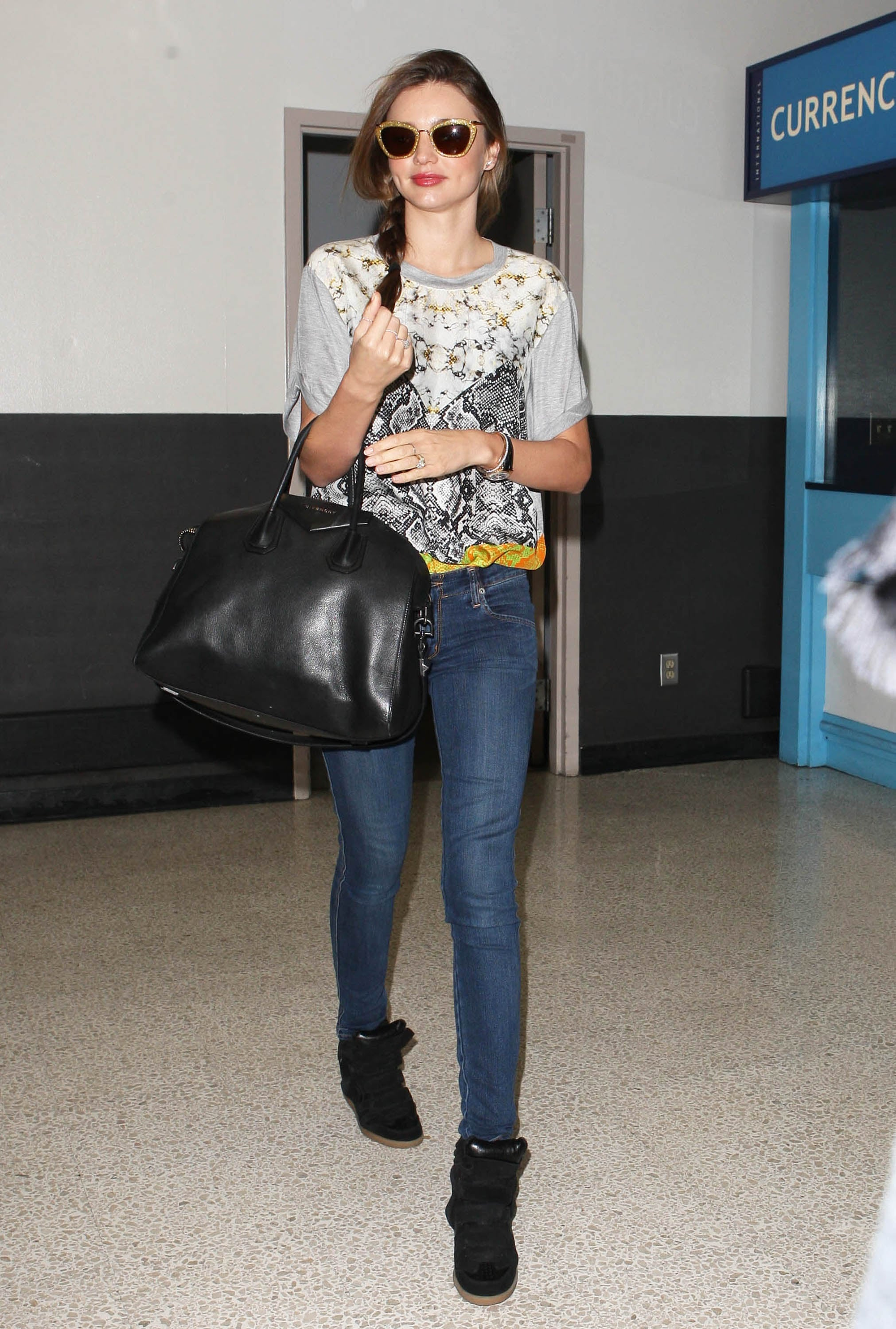 Miranda Returns to LA Following a Busy Stay Down Under