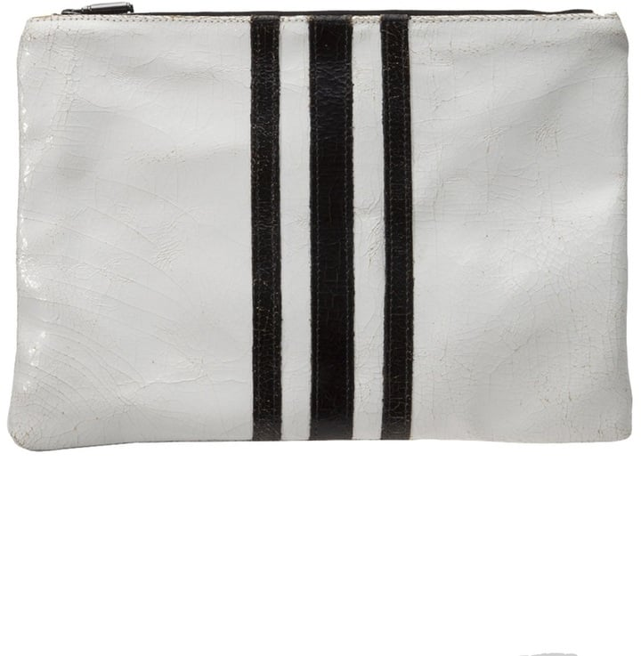 Marc Marmel Striped Zip Pouch ($340)