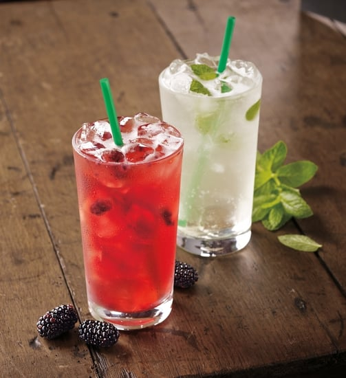 "Starbucks Tests New ""Refreshers,"" or Iced Green Coffee Drinks"
