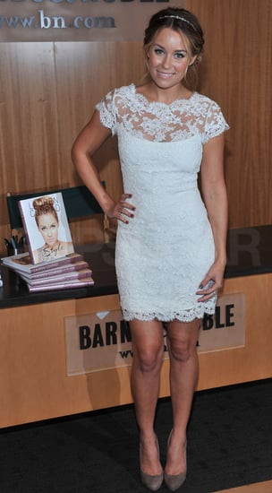 Pictures of Lauren Conrad Outside Live With Regis and Kelly in NYC