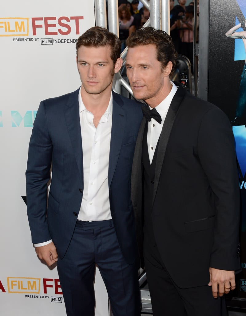 Alex Pettyfer and Matthew McConaughey