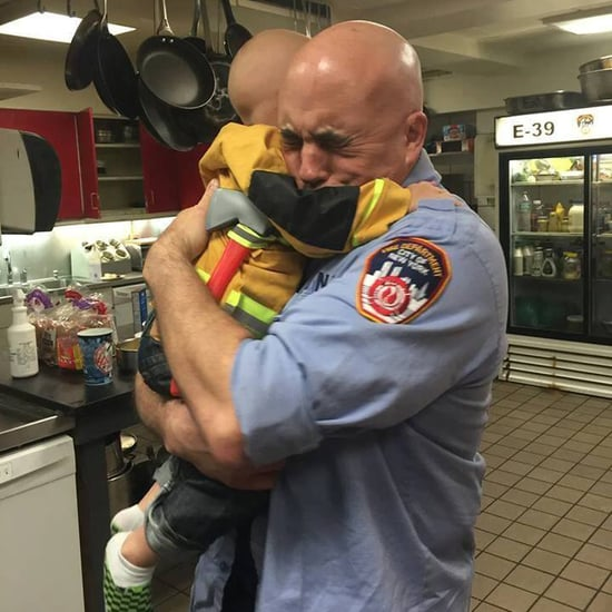 Little Boy With Cancer Adopted by FDNY Firefighters