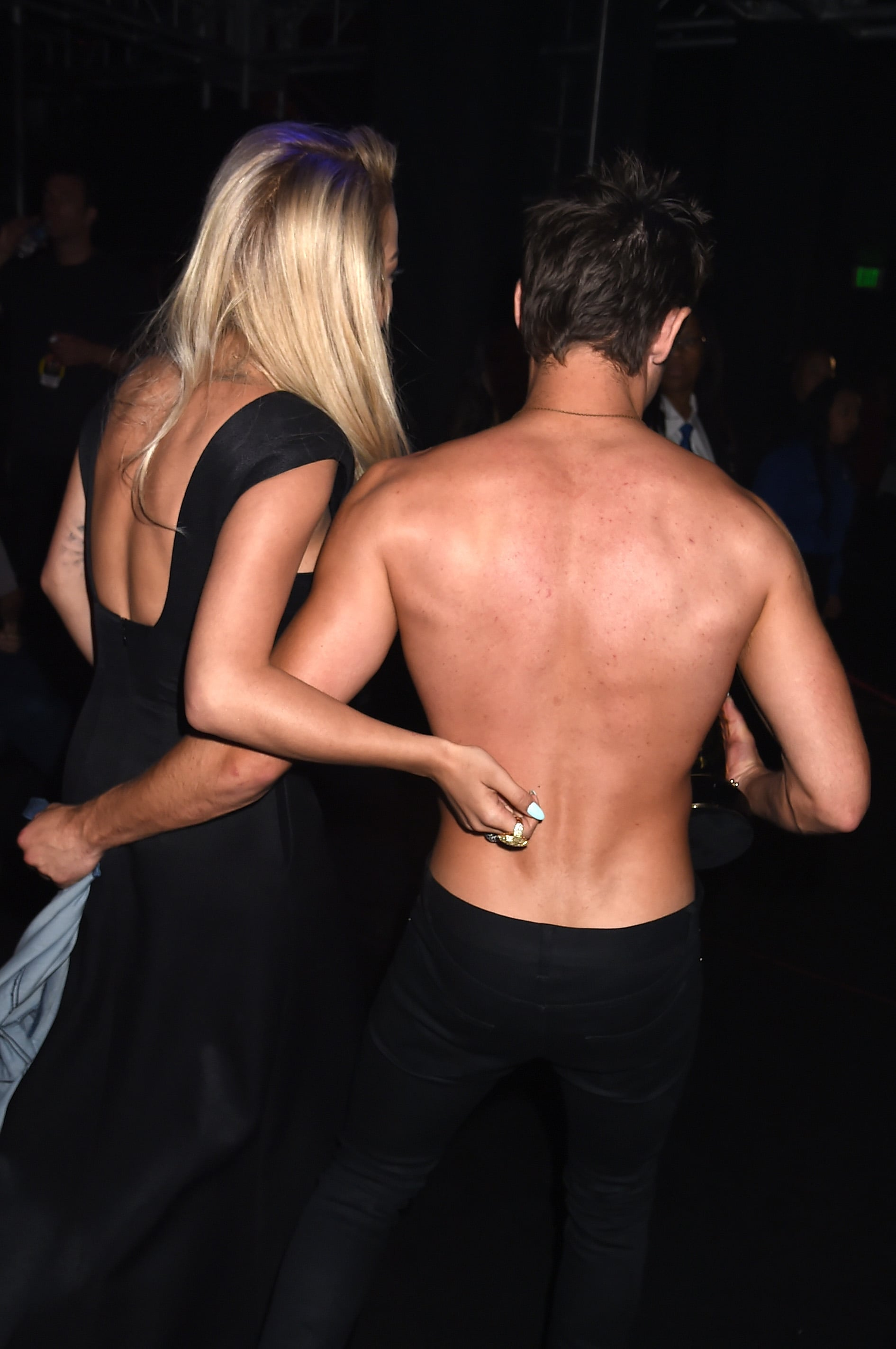Pay no mind to Zac's backside, either.