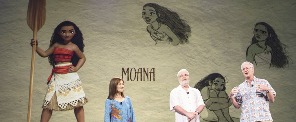 POPSUGAR Shout Out: Here's a Sneak Peek at Disney's Newest Princess, Moana