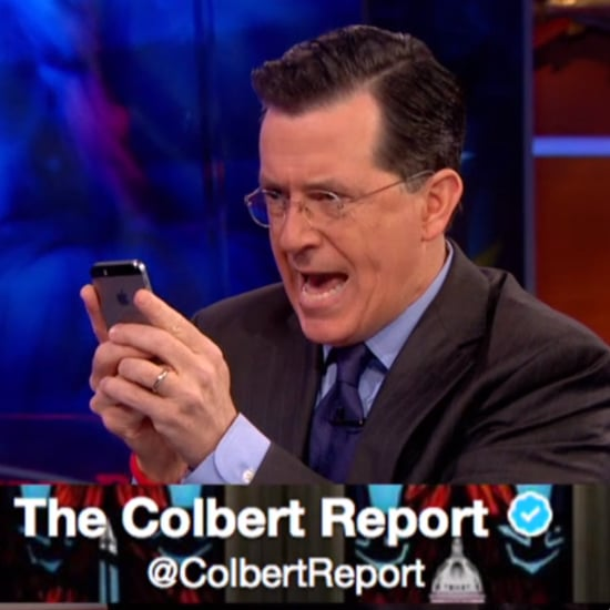 Stephen Colbert Deletes Twitter Account | Video
