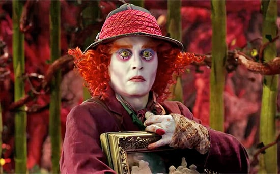 FROM EW: Alice Heads Back to Wonderland in New Alice Through the Looking Glass Trailer