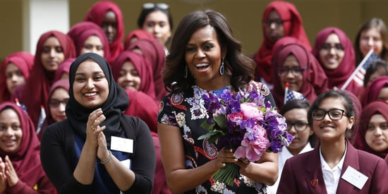 Michelle Obama's Powerful Message To Young Muslim Women In East London