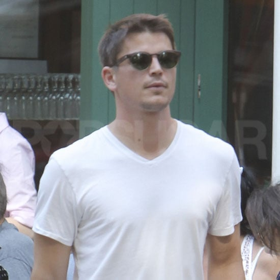 Josh Hartnett Eating Lunch Pictures in NYC