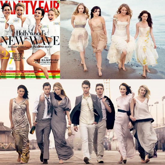 Photos of the August Young Hollywood Issue of Vanity Fair