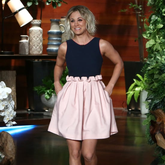 Kaley Cuoco's Dress on Ellen 2016
