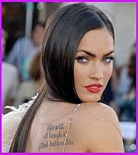 More of Megan's Tattoos