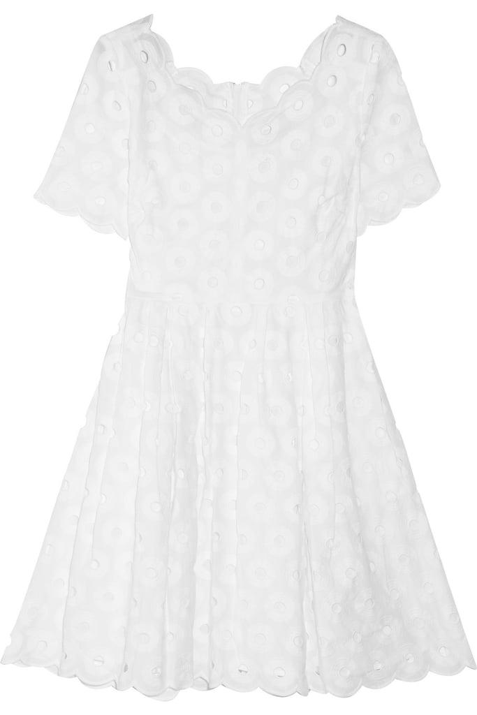 J.Crew Eyelet-Embellished Cotton Dress ($230)