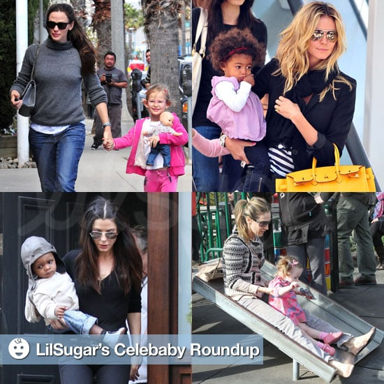 Pictures of Celebrities and Their Babies 2011-04-12 14:01:49