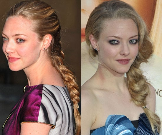 Pictures of Amanda Seyfried Wearing Braids