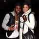 Jason Derulo and Jordin Sparks made a cute couple backstage during the event.
