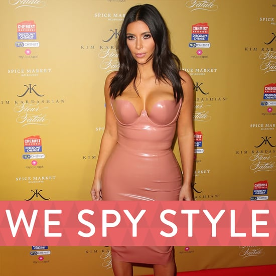 We Spy Kim Kardashian and North West Paparazzi   Video
