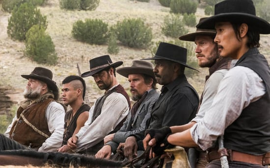 FROM EW: Denzel Washington and Chris Pratt Ride Into Town in The Magnificent Seven Trailer