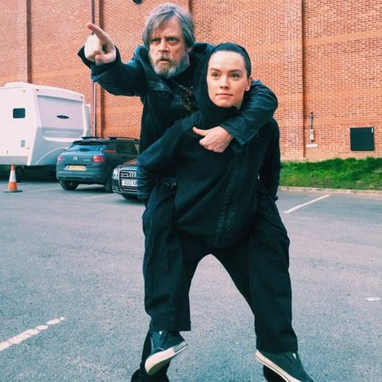 Star Wars: Episode VIII Instagram Pictures