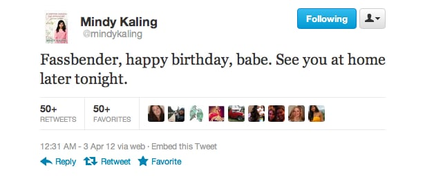 We know who Mindy Kaling has a crush on.