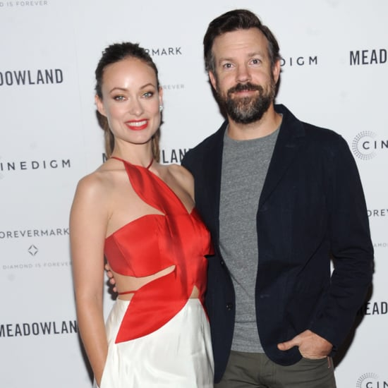 Olivia Wilde and Jason Sudeikis Red Carpet October 2015