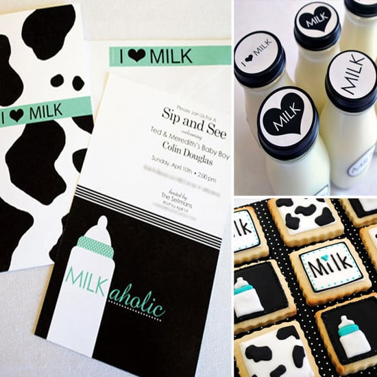 """Milkaholic"" Coed Baby Shower"