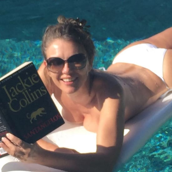 Elizabeth Hurley's Topless Holiday Photo