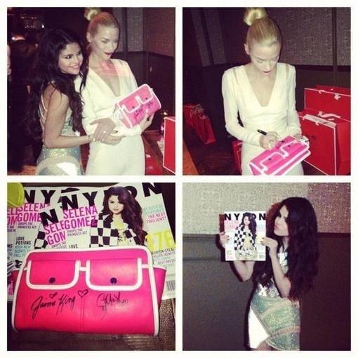 Jaime King and Selena Gomez partied together for Nylon. Source: Twitter user NylonMag
