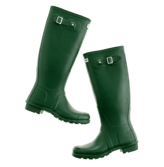 Forever the classic old-school wellie in an updated version of verdant green — the Hunter Wellies ($135) are a Fall must have.
